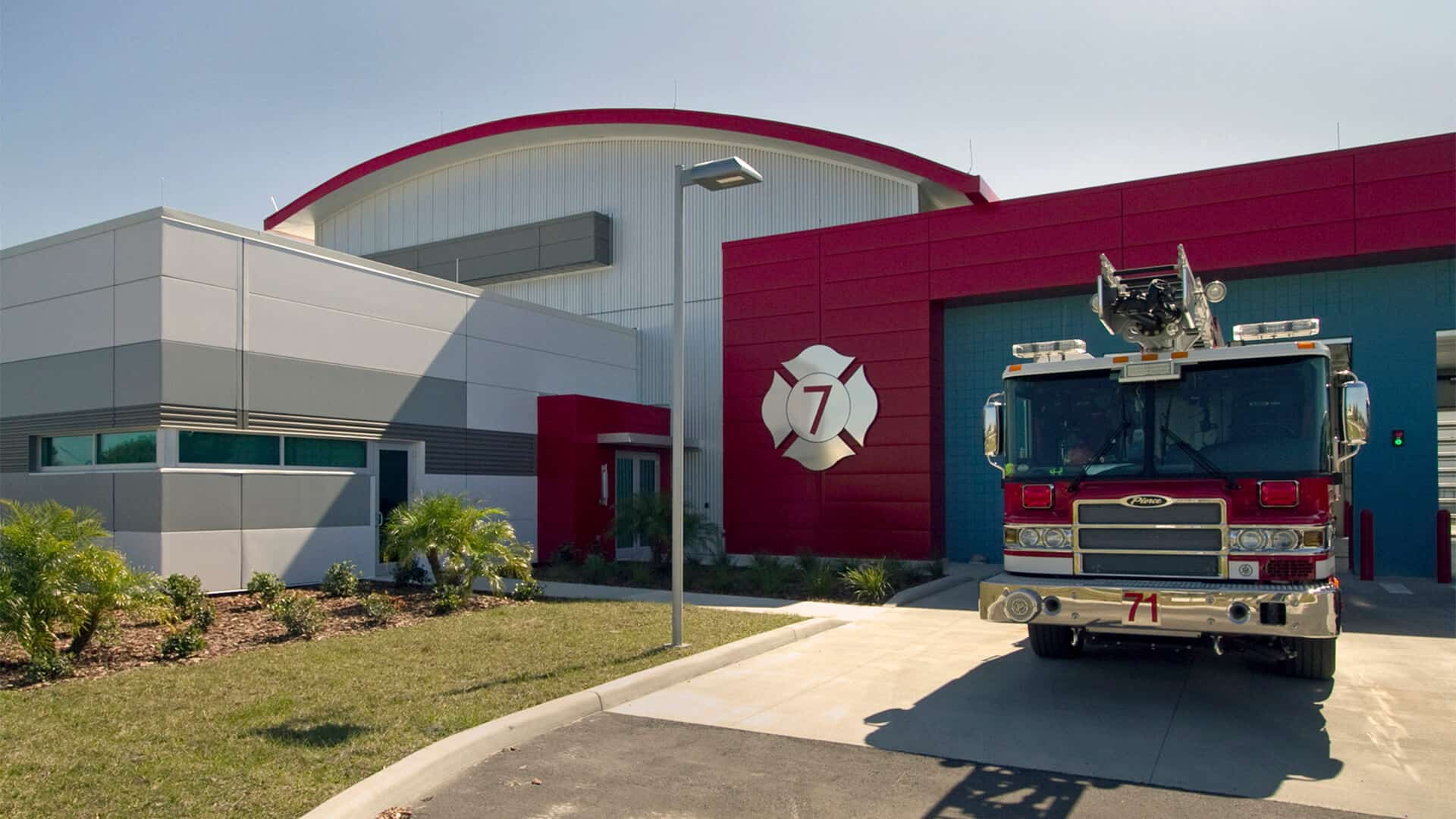 Lakeland Fire Station No. 7 - Main Header